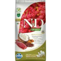 N&D Dog Quinoa Skin&coat Kacsa 7kg