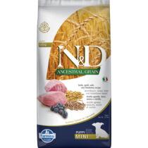 N&D Ancestral Grain Dog Puppy Mini bárány,tönköly,zab&áfonya 7kg