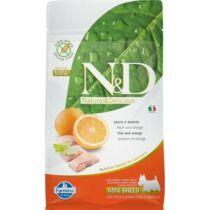 N&D Dog Grain Free hal&narancs adult mini 7kg