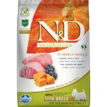 N&D Dog Grain Free vaddisznó&alma sütőtökkel adult mini 7kg