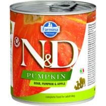 N&D Dog konzerv Vaddisznó&Alma Sütőtökkel 285g