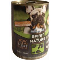 Spirit of Nature Dog konzerv Bárányhússal és nyúlhússal 415gr