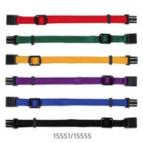 Nyakörv Kölyöknek S-M 17-25cm/10mm 6db Piros,Zöld,Sárga,Lila,Kék,Fekete