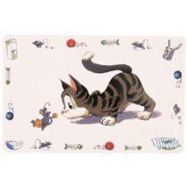 Tál alátét Comic Cat 44×28cm