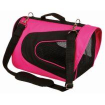 Szállítótáska Alina 22x23x35cm pink/fekete