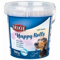 Jutalomfalat Soft Snack Happy Rolls Vödörs 500gr