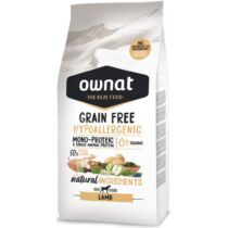 Ownat Dog Grain Free Hypo Lamb 3 kg