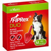 Fiprex Duo M 134 mg + 120,6 mg rácsepegtető oldat kutyáknak 1x
