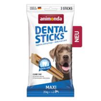 Animonda Dental Sticks (húsos) jutalomfalat - 25kg feletti kutyák részére (165g)