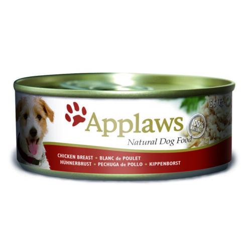 Applaws Dog Konzerv Csirkemell és rizs 156g
