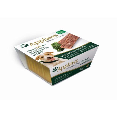 Applaws Dog Paté Marha és zöldségek 150g
