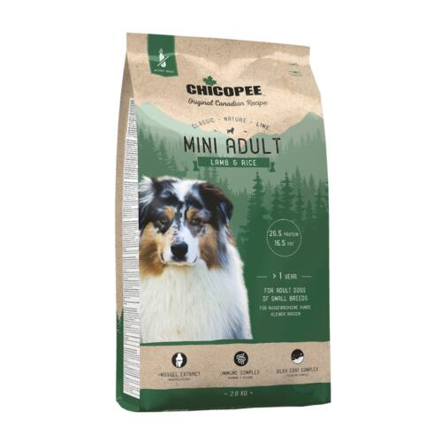 Chicopee CNL Mini Adult Lamb & Rice 2kg