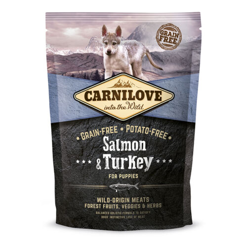 CarniLove Puppy Lazac-Pulyka 1,5kg
