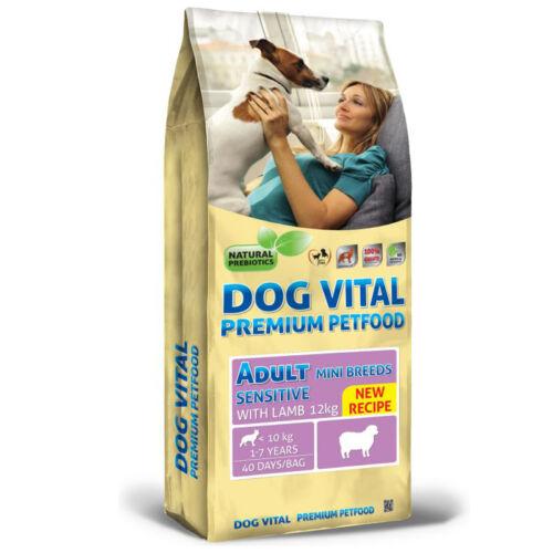 Dog Vital Adult Sensitive  Mini Breeds Lamb  12kg