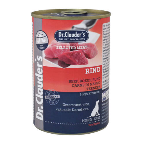 Dr.Clauders Konzerv Selected Meat Marha 400g HU