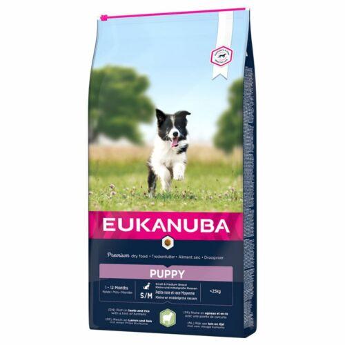 Eukanuba Puppy Small&Medium Lamb&Rice 12kg
