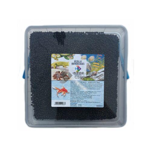 Szer-Ber Premium Pond Ball Spirulina díszhaleleség - 5000ml 3mm